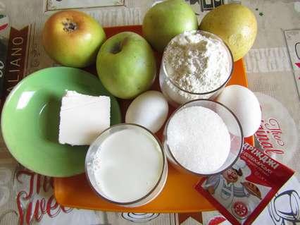 ингредиенты для приготовления пончиков