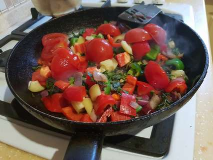 тушение овощей