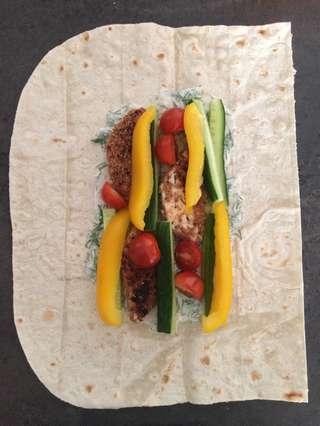 рецепт шавермы в лаваше -овощи