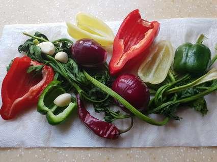 овощи для паприкаша