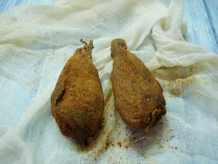 мини- хамоны из куриной голени