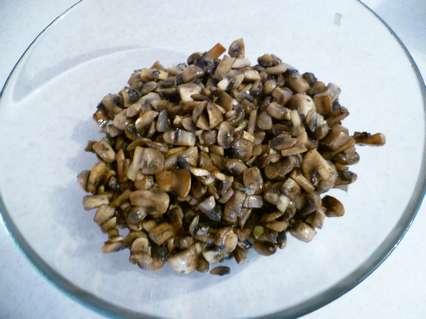 Обжаренные грибы
