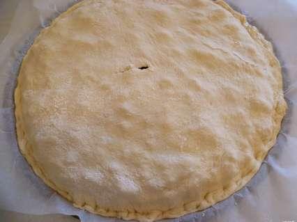 Тонкие дрожжевые пироги. Закрытый тонкий пирог