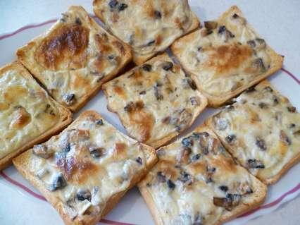 Бутерброды с жульеном
