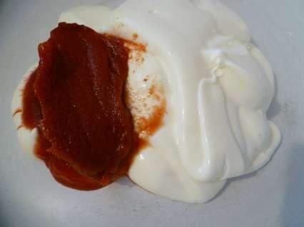 Майонез с томатной пастой